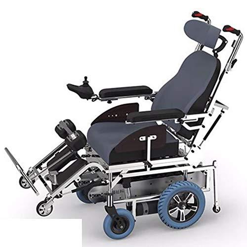 SJZV Kletternder Rollstuhl ältere Personen Neue intelligente elektrische kletternde Fahrzeug-Bahn, die Stehender Liegender kletternder Rollstuhl Steht 654