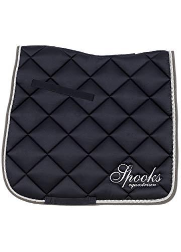 SPOOKS Dressage Pad Fineline - DE (Farbe: navy/grey; Größe: dressage)