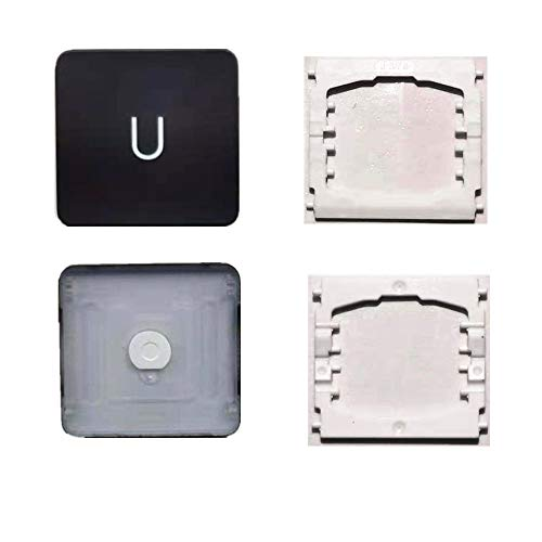Replacement Individual U Key Cap and Hinges are Applicable for MacBook Pro 13&16inch Model A1989 A1990 and for MacBook Air Model A1932 Keyboard to Replace The U Keycap and Hinge