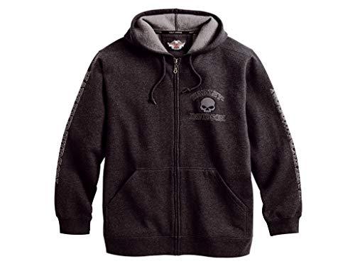 Harley-Davidson - Sweat-Shirt à Capuche - Homme Gris Gris Small - Gris - X-Large