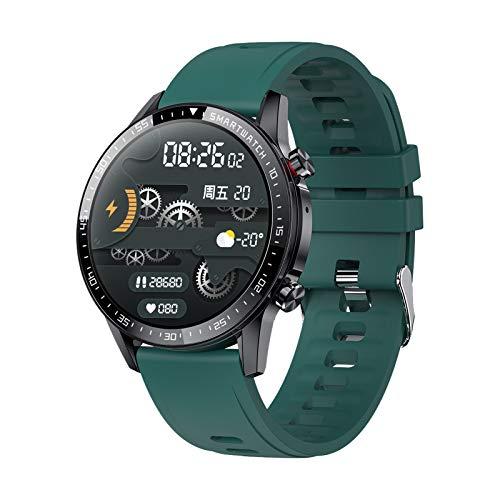 Gulu 2021 Nuevo Reloj Inteligente Hombres Bluetooth Call Sports Pulsera Deportes Smart Relk Impermeable Smartwatch Mujeres para Android iOS,C