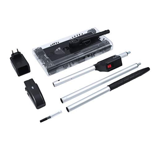 Multifunktionaler elektrischer Hauswirbel Schnurloser Reiniger Automatische Haushaltsreinigungsmaschine Schwarz Einfach zu bedienen, schwarz