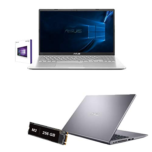 Notebook Asus Portatile Pc Display 15.6' HD,Intel Dual Core N4020 Up To 2.80Ghz,Ram DDR4 8Gb,Ssd M.2 256GB,Intel UHD Graphics 600,3xUsb,Hdmi Wifi Bluetooth,Windows 10 pro,Open Office,antivirus,Silver