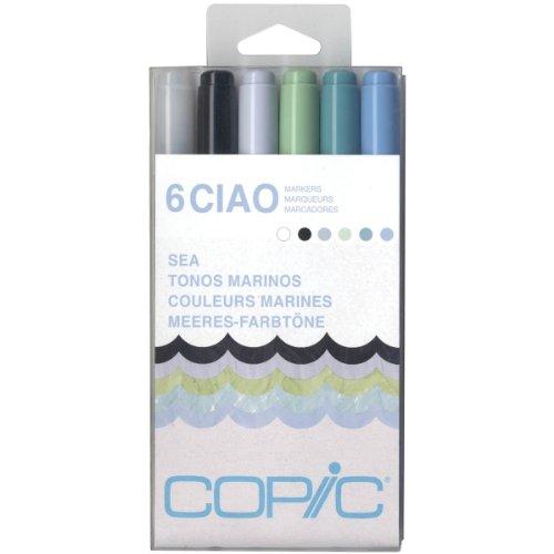 Copic Marker-Set, mehrfarbig, Einheitsgröße