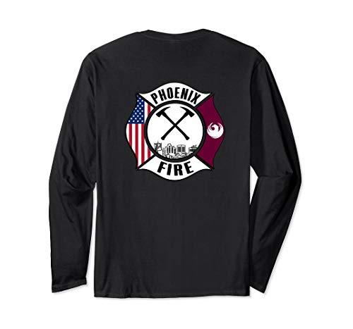 Phoenix Arizona Fire Rescue Department Firefighters Duty Long Sleeve T-Shirt