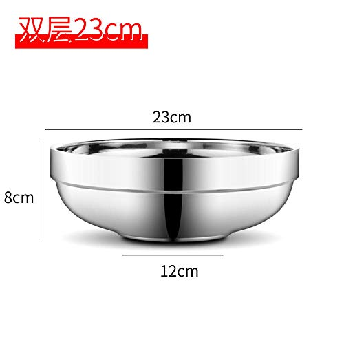 4 L Stainless Steel Genware NEV-2045 Mixing Bowl