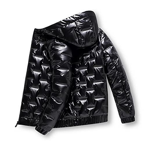 USDBE 가을 패딩 된 옷 겨울 재킷 남자 밝은 파카는 따뜻한 자켓을 두껍게했습니다