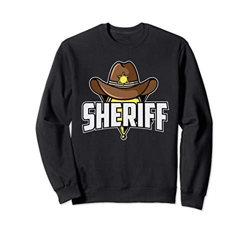 Traje de sheriff I Vaquero e indio I Occidental I Sheriff Sudadera