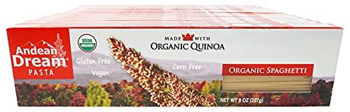 Andean Dream Org Spaghetti Quinoa Pasta Gluten Free ( 12x8 OZ)