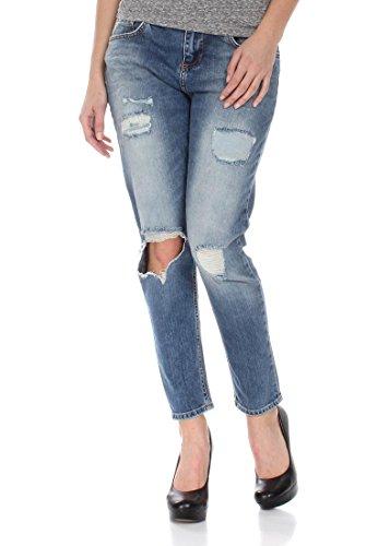LTB Jeans Damen MIKA Jeans, Blau (Estrellas Wash 51136), 29W