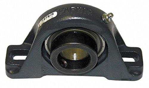 Timken VAS1 3/16 VAS-serie gietijzer 2-bouts kogellagerblok, contactafdichtingen, excentrische kraag, niet-uitbreidingstype, 30.163 mm Boordiameter