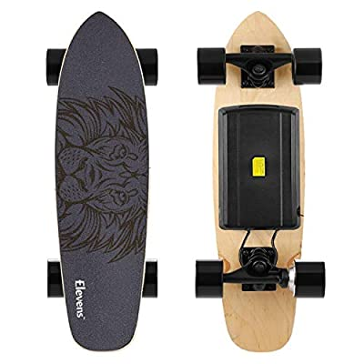 "LEVE 28"" Electric Longboard Skateboard with 400W Brushless Motor"