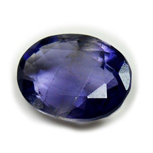 Gemsyogi Piedras Preciosas Sueltas Naturales de Iolite facetadas Forma de Piedra Ovalada de 4 Quilates a tasa Whoelsale para la fabricación de Joyas