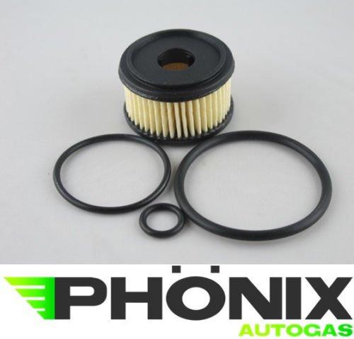 Phönix Autogas Filter Valtek Abschaltventil Reparatur-Set Flüssigphase Gasfilter für LPG KME Stag etc.