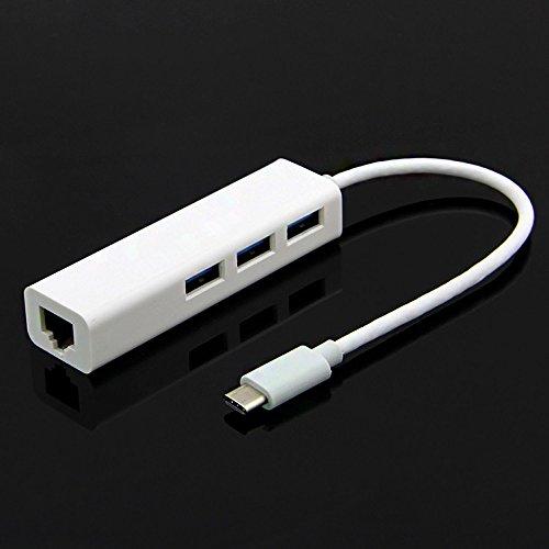 O2+ USB Type C / USB 3.1 to RJ45 Gigabit Ethernet Adapter Converter