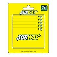 Subway Multi Pk Gift Card