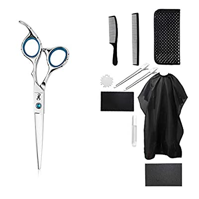 Amazon - 60t% Off on 11PCS Stainless Steel Thinning Shears Scissors Set Professional Salon Barber
