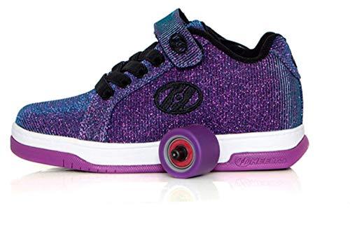 Heelys HES10121 Split Kr Schuhe, Violett, Purple Aqua - Größe: 36.5 EU