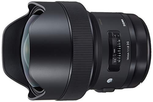 Sigma 450954 14 mm F1.8 DG AF HSM Art para Montura Canon, Negro