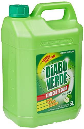 Diabo Verde, Limpeza Pesada Maçã 5 L