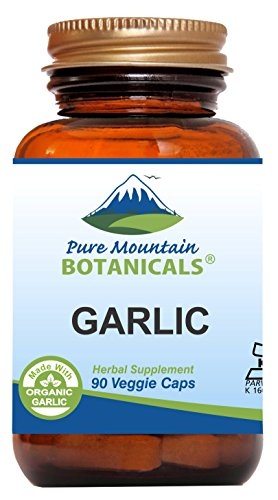 MADE with CERTIFIED ORGANIC GARLIC - Our Kosher certified capsules are filled ONLY with Certified Organic Garlic Powder and NOTHING ELSE. No wheat, no soybeans, no dairy, no egg, no gluten, no fish/shellfish, no peanuts/tree nuts. Our GARLIC PILLS ar...