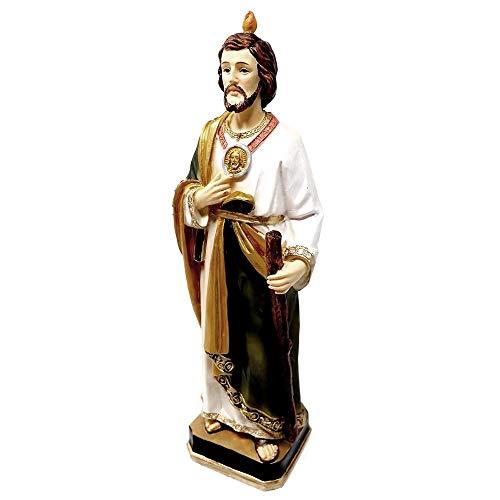 Inmaculada Romero IR Figura San Judas Tadeo Adorno 20Cm. Resina Peana Decoración