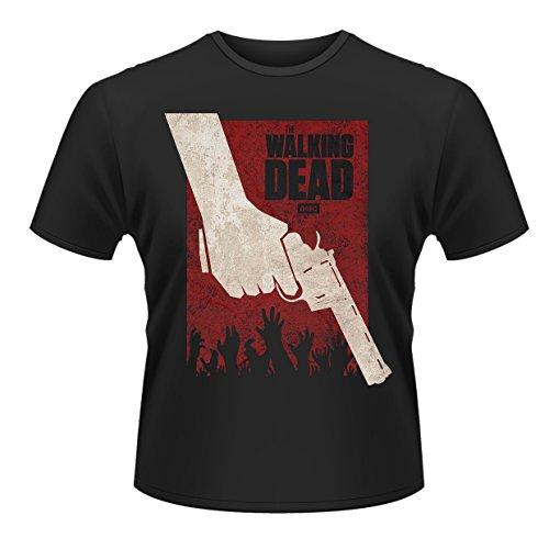 Plastic Head Herren Walking Dead, The Revolver T-Shirt, Schwarz, XL