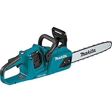 Makita XCU07Z 18V X2 (36V) LXT Lithium-Ion Brushless Cordless 14 Chain Saw, Tool Only, Teal