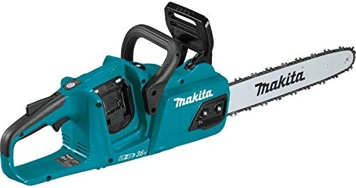 Makita XCU07Z 18V X2 36V LXT Lithium Ion Brushless Cordless 14 Chain Saw Tool Only Teal product image