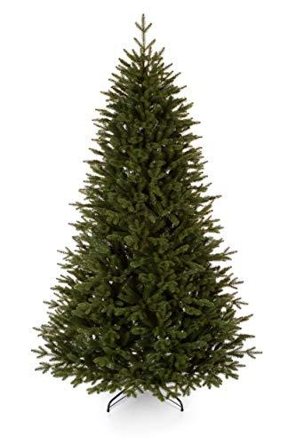 Clarex Árbol de Navidad artificial de abeto canadiense, color verde natural, mezcla...