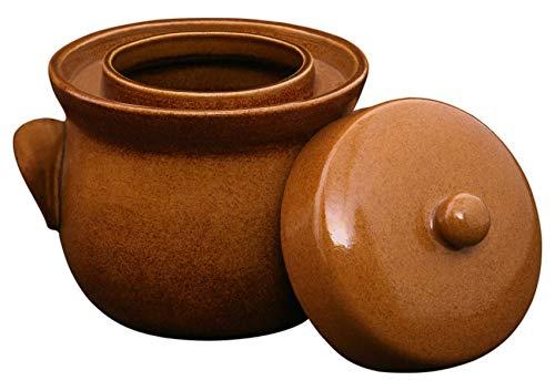 Original K&K Gärtopf 2,0 Liter - Form II - inkl. Beschwerungsstein und Deckel