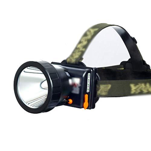 Llq2019 Fari Esterni LED sensore luci notturne luci da Pesca Notte Impermeabile Pesca Notturna luci fari Super Luminoso (Color : White, Size : 10 * 9 * 10CM)