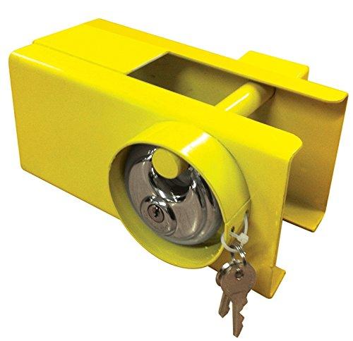 MSA Heavy Duty Anhängeschloss & Schlüssel zum Abschleppen der Sicherheit von Wohnwagen / Anhängern