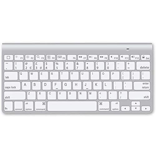 Ultra-Slim Bluetooth Keyboard Compatible with iPad 10.2(8th/ 7th Generation)/ 9.7, iPad Air 4th Generation, iPad Pro 11/12.9, iPad Mini