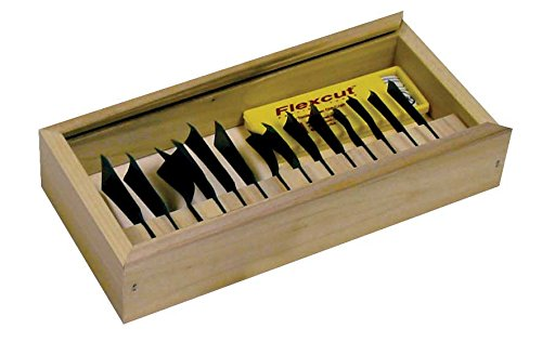 Flexcut FLEXRG100 Couteau à lame fixe unisexe – Adulte, multicolore, taille unique