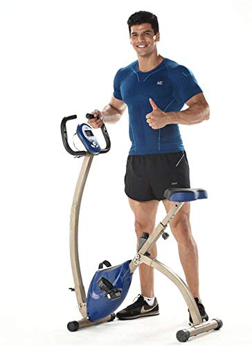 LY88 Fitness-hometrainer, elektromagnetische hometrainer, ultrastil, fiets, fitnessapparaat, aerobic, gewichtloos, LCD-display, stabiel en comfortabel design
