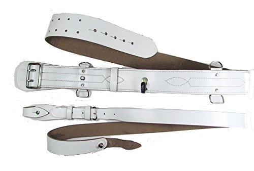 Uniform Store London - Ceinture - Homme Blanc White Chrome