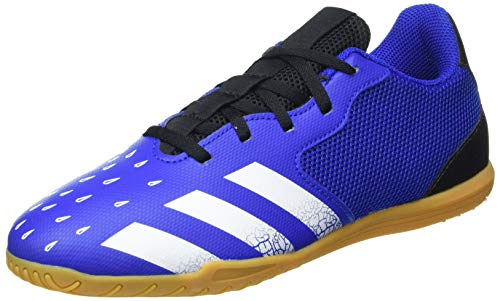 adidas Predator Freak .4 IN Sala, Zapatillas de fútbol Hombre, AZUREA/FTWBLA/NEGBÁS, 42 EU