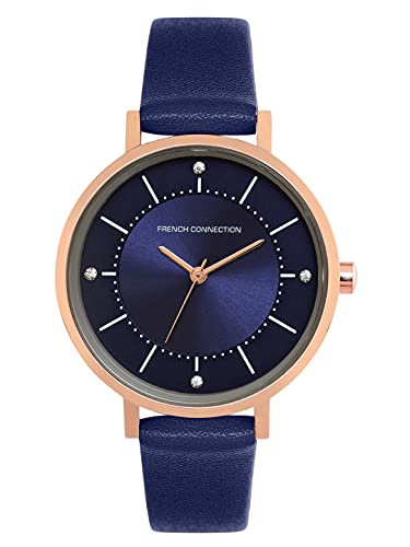 French Connection Analog Blue Dial Women's Watch-FCN00010D