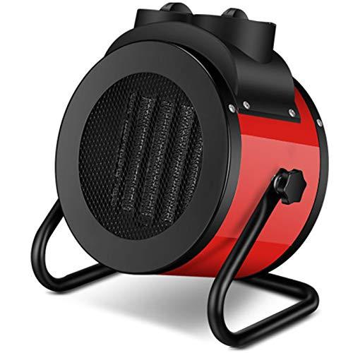 WDXLT Calentador Al Aire Libre,Eléctrico Comercial Calentador Patio,Calor Rápido Protección contra Sobrecalentamiento Estufa De Gas,Interiores Patio-Rojo 5000w