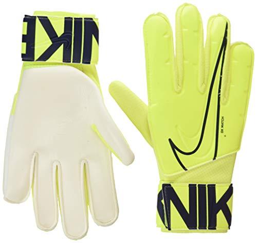 Nike Nk GK Match-Fa19, Guanti da Calcio Unisex – Adulto, Volt/Obsidian, 8