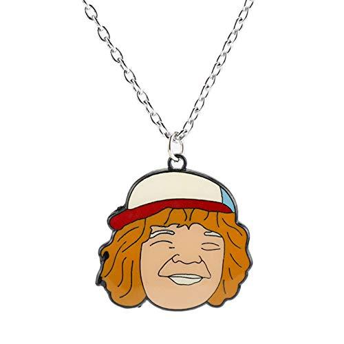 YTO Stranger Things, Portachiavi con Collana in Lega(Color:Necklace)