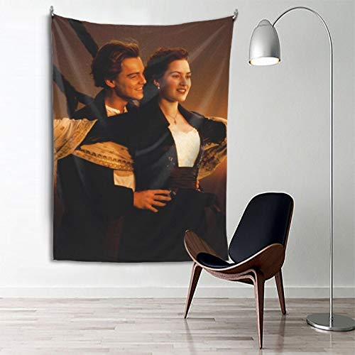 Titanic Tapestry Bedroom Home Decor Boys Girls Wall Hanging Room Dorm 3D Painting 80 X 60 Inches