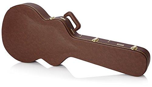 Gator gw-335-brown Semi-Hollow caso de madera para guitarra, Tipo Gibson 335, Castaño