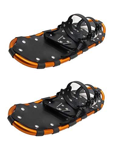 LVYE1 MRMF Raquetas De Nieve De Peso Ligero, Zapatos De Nieve De Nieve, Sierra De Nieve para Hombres Y Mujeres - Zapatos De Nieve De Terreno De Aluminio con Postes De Trekking