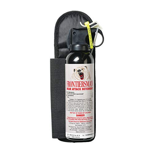 SABRE Frontiersman Bear Spray 7.9 oz (Holster Options &...