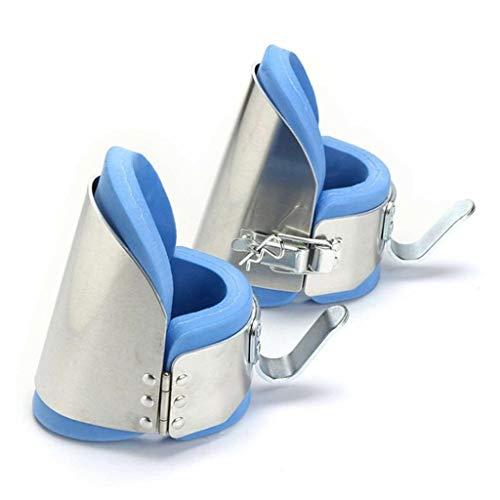 Fantastic Prices! HETAO 1 Pair Hanging Inversion Gravity Boots Ankle Aluminium Inversio Abdominal Tr...