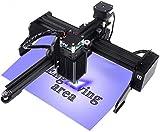 Titoe 3000mw Engraving Machine Mini Desktop Engraver Printer for DIY, Logo Mark