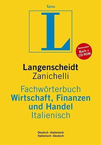 Langenscheidt Fachwörterbuch Wirtschaft, Finanzen und Handel, Italienisch