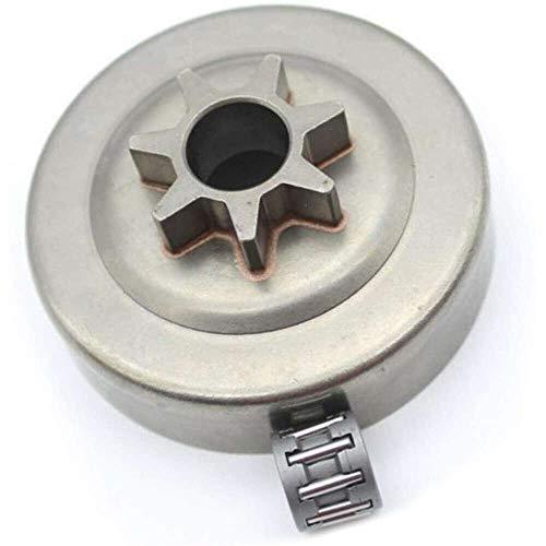 YuKeShop Electrodomésticos 325 '7T embrague tambor piñón cojinete para Husqvarna 240 235 235E 136 137 235E 136 137 141 142 36 41 Motosierra Accesorios Herramientas